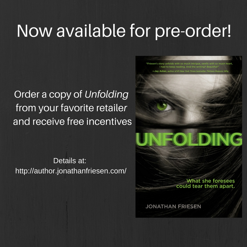 Pre-order Unfolding by Jonathan Friesen